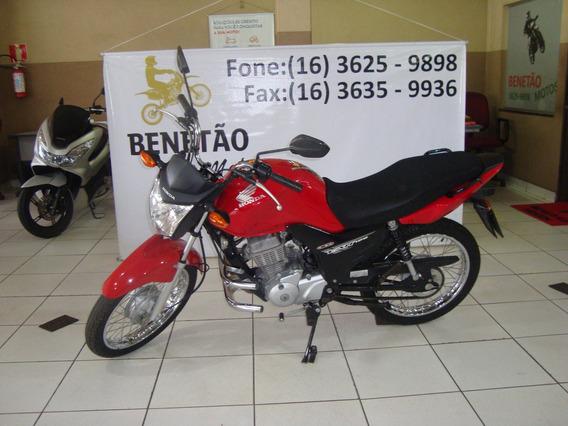 Honda Cg 125 Fan Ks Vermelho 2014