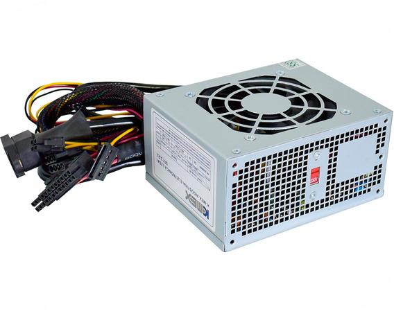 Mini Fonte Kmex Pp200rng 200w 20+4p C/cabo Fixo