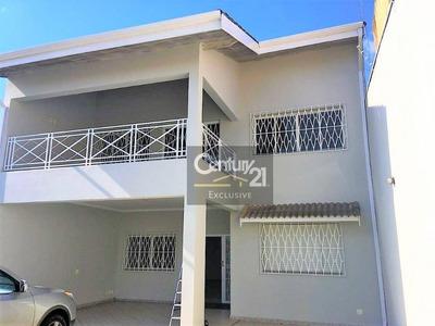 Casa Residencial À Venda, Centro, Indaiatuba. - Ca0353