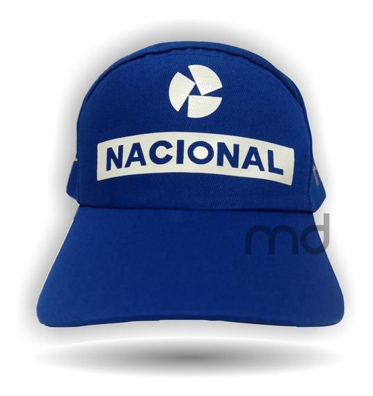 Boné Senna Nacional