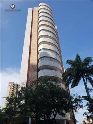 Belo Apartamento Com 268m² De Área Construída Á Venda Em Localização Privilegiada Da Aldeota.. - Ap0334