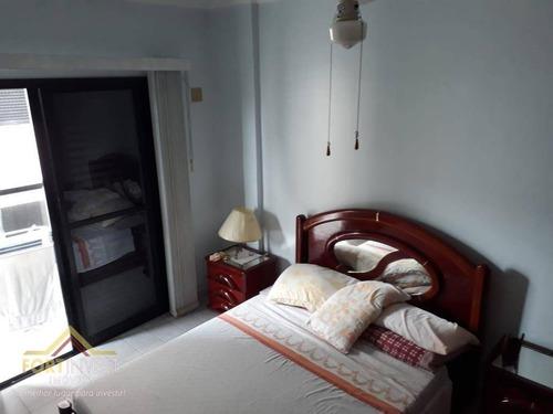 Imagem 1 de 20 de Apartamento Com 2 Dormitórios Para Alugar, 100 M² Por R$ 2.500,00/mês - Tupi - Praia Grande/sp - Ap2367