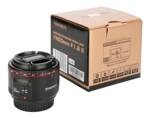 Imagen 1 de 4 de Lente Yongnuo Yn 50 Mm F1.8 Ii P/ Canon Inconet