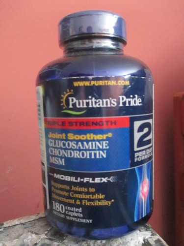 Glucosamina Chondroitin  Msm Marca Puritan's Pride Importado