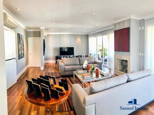 Imagem 1 de 21 de Apartamento Com 4 Dormitórios À Venda, 292 M² Por R$ 5.990.000,00 - Moema - São Paulo/sp - Ap3603