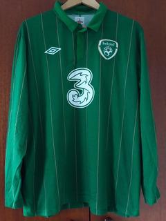 Camisa Seleção Irlanda 2012 Manga Longa Gg Umbro
