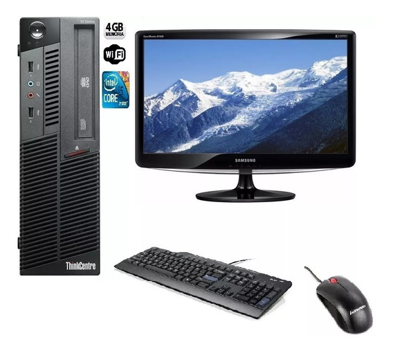 Pc Thinkcentre I5-3470 3.2ghz/ 4 Gb Ram / Hd 500 Gb +wifi