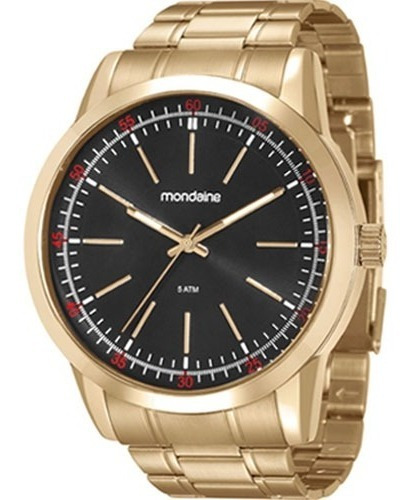 Relógio Mondaine Dourado Masculino 94985gpmvde2