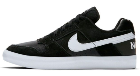 Tênis Nike Sb Delta Force Vulc Preto/branco Skate Original