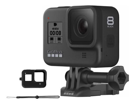 Câmera Hero 8 Black À Prova Dágua 4k Wifi + Capa De Silicone