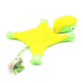 Brinquedo Para Cachorro Petfit Camaleão Amarelo E Verde