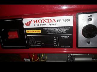 Grupo Electrógeno Honda Ep 7500