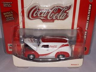 Johnny Lightning Coca Cola On The Move Chevy´50 N°6 Releas 3