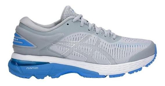 Zapatillas Asics Gel Kayano 25 Gris Mujer Running