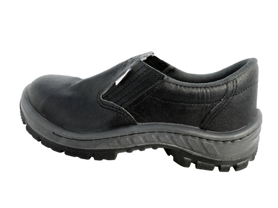 Sapato Vaqueta Bi Com Biqueira Pvc - Kit Com 3 Pares