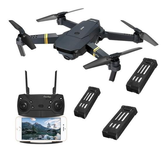 Drone Eachine Fq35 Mavic C/ Câmera Hd720p - H8 E52 E55 Combo