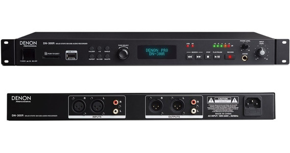 Denon Pro Dn-300r Sd/usb Recorder