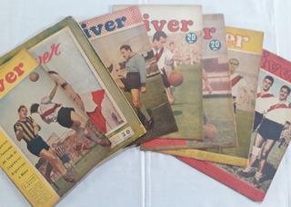 Revista River Años 40 - Lote - Epoca De La Maquina