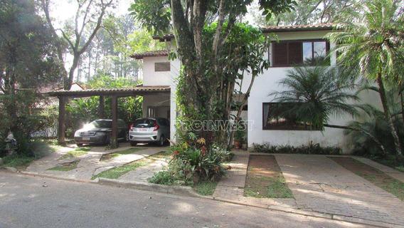 Ótima Casa Em Excelente Condomínio Na Granja Viana. - Ca16987