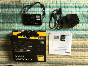 Câmera Digital Nikon Coolpix S5300 Em Perfeito Estado