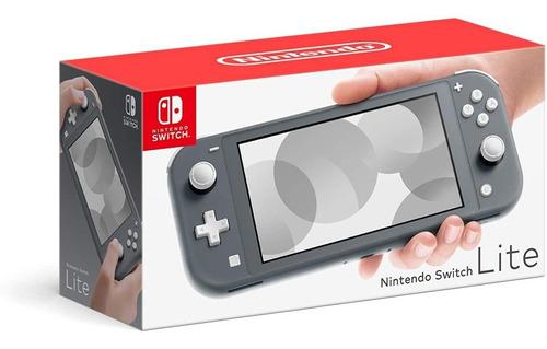 Imagen 1 de 3 de Consola Nintendo Switchlite Gris Hdhsgazaausz 32gb Nuevo