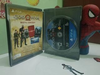 God Of War Carátula Metálica - Ps4 Fisico Original