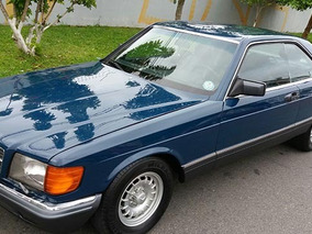 Mercedes Benz Sec 500 1983 Placa Preta R$ 65000