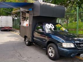 S10 2.2 Mpfi Std 4x2 Cs 8v 2000 Convertido Food Truck Em 201