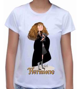 Camisa Camiseta Baby Look Hermione Harry Potter