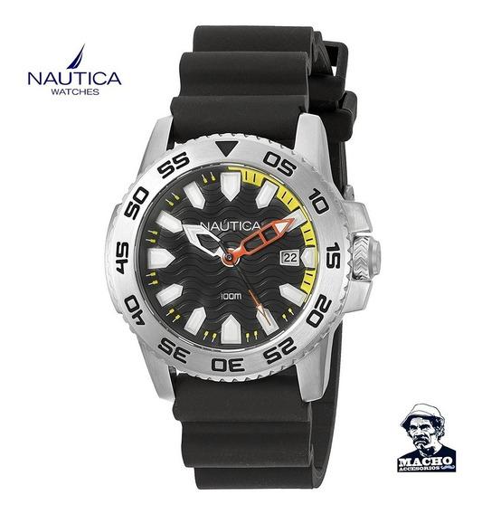 Reloj Nautica Nsr 20 Nad12526g En Stock Original Caja Nuevo