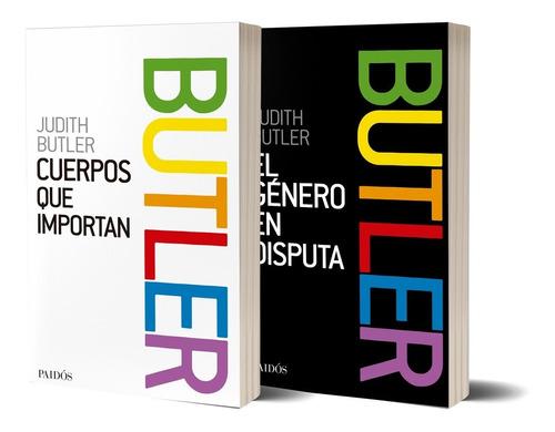 Imagen 1 de 4 de Pack Judith Butler De Judith Butler - Paidós
