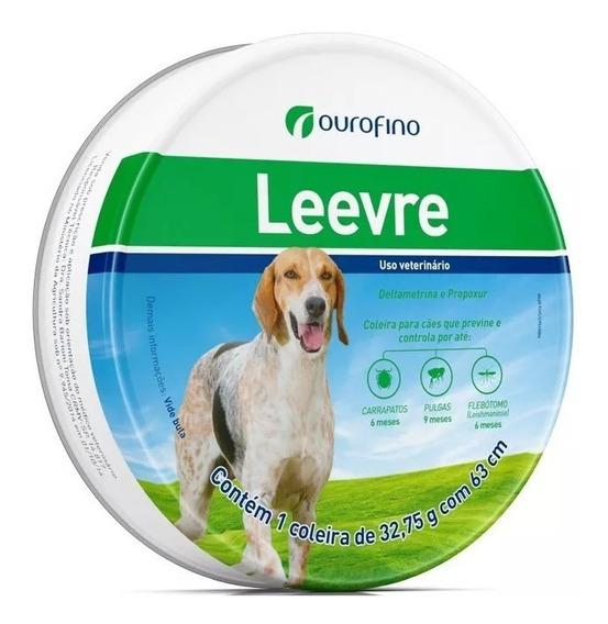 Coleira Anti Pulgas Ourofino Leevre Para Cães G 63 Cm - Ful