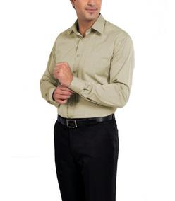 Camisa Social Masculina Manga Longa Branca Médico Dentista