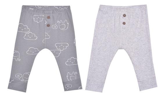 Set 2 Pzas Pantalones Carters Multicolor Unisex 126h5140