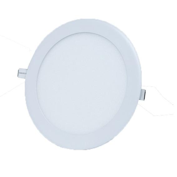 Luminária Led Embutir 32w 6500k Redonda Rowma
