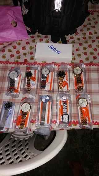 Kit Com 100 Relógios Originais