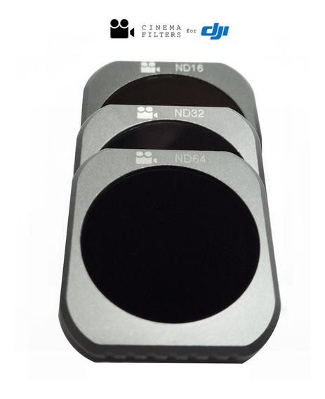 Filtro Nd E Polarizado 16 32 64 Mavic 2 Pro Cinema Filters
