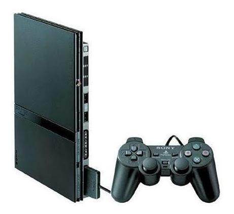 Playstation 2 Slim + 2 Controles .