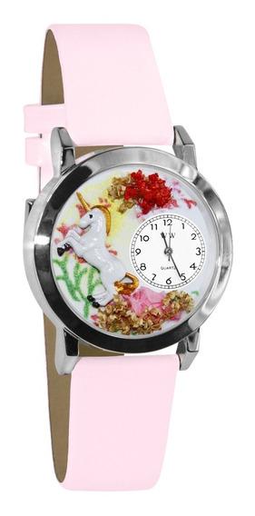 Unicornio Pequeño Reloj De Plata De Estilo
