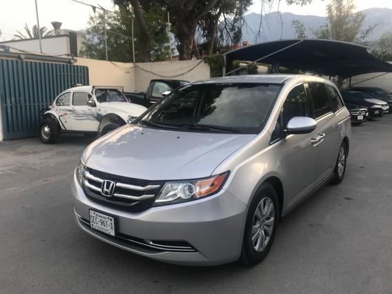 Honda Odyssey Ex 2015 Plata