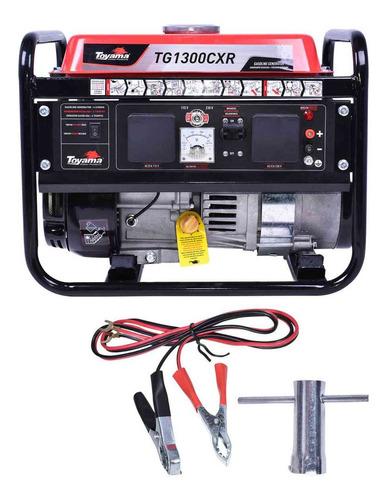 Gerador De Energia A Gasolina Tg1300cxr 1250w Toyama