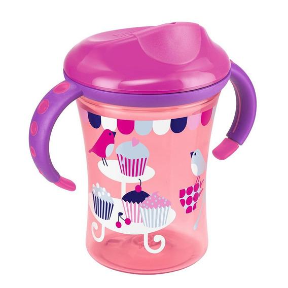Vaso Easy Learning Cup Color Rosado Marca Nuk
