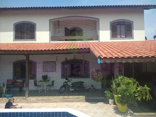 Casa Residencial A Venda, Localizada No Bairro Estancia Balneária, Na Cidade De Peruíbe. - Ca10482 - 69332577