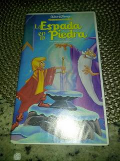 La Espada En La Piedra Walt Disney Vhs