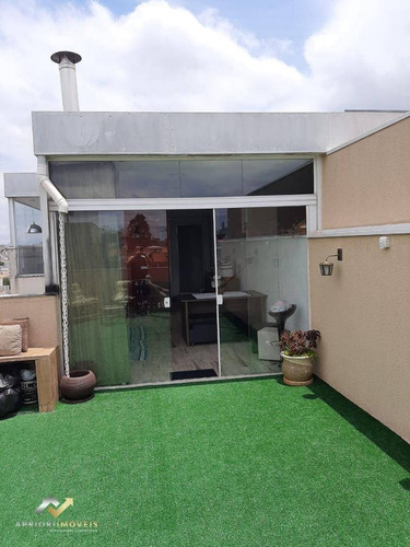 Cobertura Com 2 Dormitórios À Venda, 120 M² Por R$ 420.000,00 - Vila Tibiriçá - Santo André/sp - Co0922