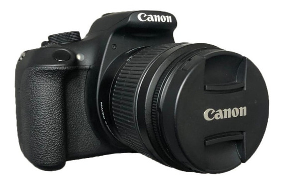 Câmera Canon T5 Rebel + Lente 18-55mm Impecáveis