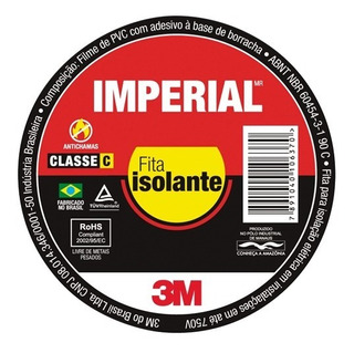 Fita Isololante 3m Imperial 20 Mts C/10