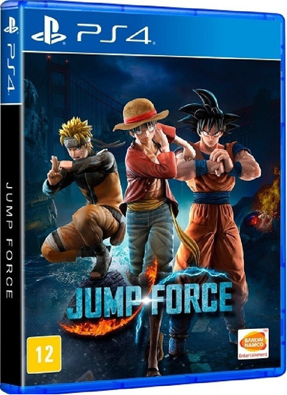Jump Force Ps4 Mídia Física Lacrado Pronta Entrega Original