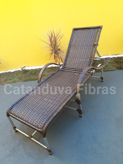 Espreguiçadeira De Fibra Sintética Cadeira Para Piscina