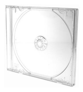 Caja De Cd Transparentes X 50-envio Gratis X Mercadoenvio